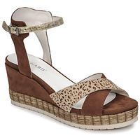 Schuhe Damen Sandalen / Sandaletten Regard DOUAI Braun