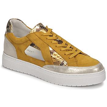 Schuhe Damen Sneaker Low Regard HARY2 Gelb