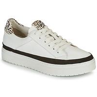 Schuhe Damen Sneaker Low Regard HENIN Weiss / Schwarz