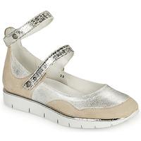 Schuhe Damen Sandalen / Sandaletten Regard JUMEL Weiss / Silbern