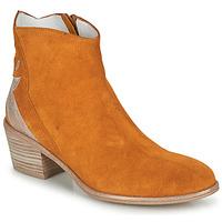 Schuhe Damen Boots Regard NEUILLY Braun