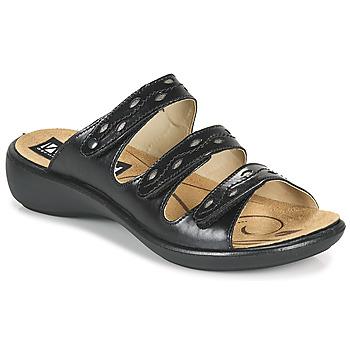 Schuhe Damen Pantoffel Romika Westland IBIZA 66 Schwarz