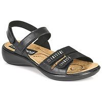 Schuhe Damen Sandalen / Sandaletten Romika Westland IBIZA 86 Schwarz