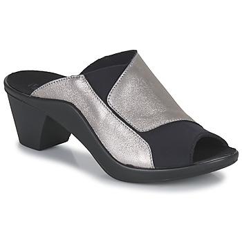 Schuhe Damen Pantoffel Romika Westland ST TROPEZ 244 Schwarz / Gold