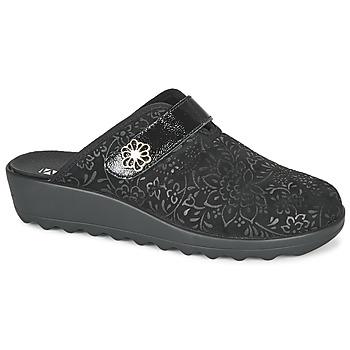 Schuhe Damen Hausschuhe Romika Westland GINA 110 Schwarz