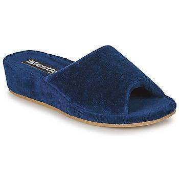 Schuhe Damen Hausschuhe Romika Westland MARSEILLE Marine