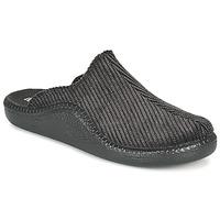 Schuhe Herren Hausschuhe Romika Westland MONACO 220 Schwarz