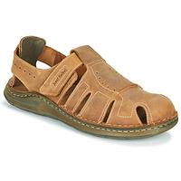 Schuhe Herren Sandalen / Sandaletten Josef Seibel MAVERICK 01 Braun