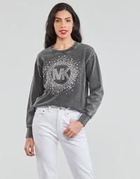Kleidung Damen Sweatshirts MICHAEL Michael Kors ACID WSH MK STAR STUD Schwarz