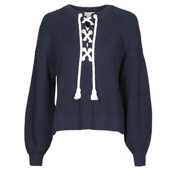Kleidung Damen Pullover MICHAEL Michael Kors EASY ROPE LACE SWTR Marine