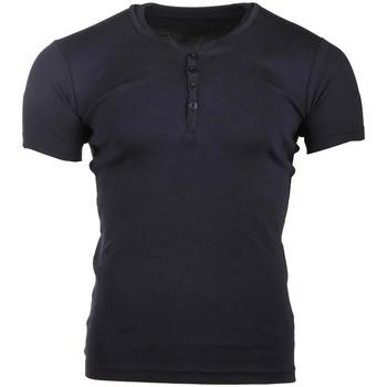 Kleidung Herren T-Shirts Biaggio MB-THEO Blau