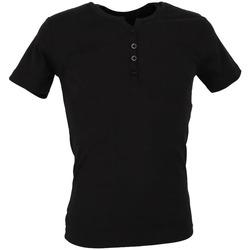Kleidung Herren T-Shirts Biaggio MB-THEO Schwarz