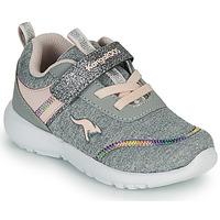 Schuhe Mädchen Sneaker Low Kangaroos KY-CHUMMY EV Grau / Rose