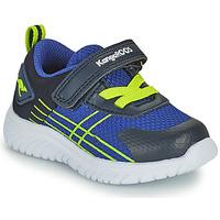 Schuhe Jungen Sneaker Low Kangaroos KI-TWEE EV Blau / Grün