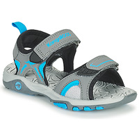 Schuhe Kinder Sandalen / Sandaletten Kangaroos K-MONT Grau / Blau