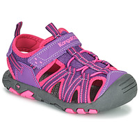Schuhe Mädchen Sandalen / Sandaletten Kangaroos K-ROAM Rose / Grau