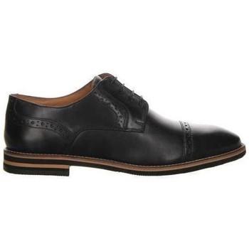 Schuhe Herren Derby-Schuhe Salamander Vasco Wohnungen Schwarz