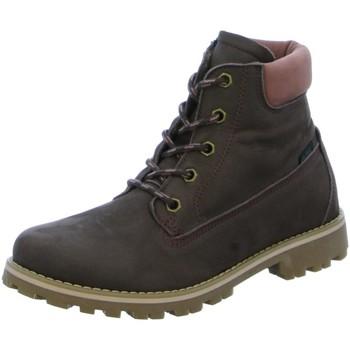 Schuhe Mädchen Boots Vado Schnuerstiefel MILAN 25201-202 braun