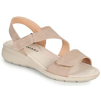 Schuhe Damen Sandalen / Sandaletten Damart 67808 Beige / Rose