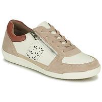 Schuhe Damen Sneaker Low Damart 68010 Weiss