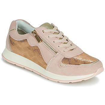 Schuhe Damen Sneaker Low Damart 64823 Creme