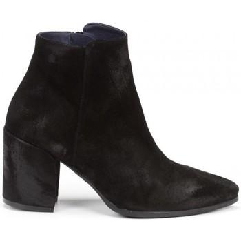 Schuhe Damen Low Boots Dorking 24 Hrs mod.8657 Schwarz