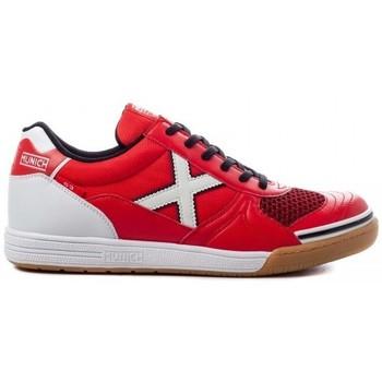 Schuhe Herren Sneaker Low Munich INDOOR 1068 3111068 Rot