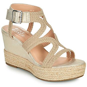 Schuhe Damen Sandalen / Sandaletten Bullboxer 175030F2S Beige