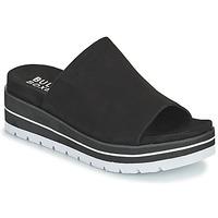 Schuhe Damen Pantoffel Bullboxer 078024F2T Schwarz