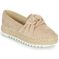 Schuhe Damen Leinen-Pantoletten mit gefloch Bullboxer 155001F4T Rose
