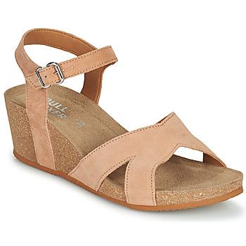 Schuhe Damen Sandalen / Sandaletten Bullboxer 502000E2C Beige