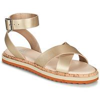 Schuhe Damen Sandalen / Sandaletten Bullboxer 053001F1S Gold