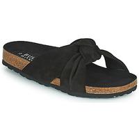 Schuhe Damen Pantoffel Bullboxer 504000E1C Schwarz