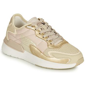 Schuhe Damen Sneaker Low Bullboxer 263000F5S Beige