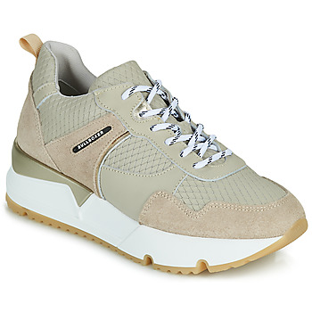 Schuhe Damen Sneaker Low Bullboxer 323015E5C Beige