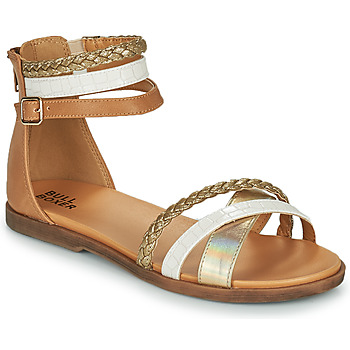 Schuhe Mädchen Sandalen / Sandaletten Bullboxer ALM013F1S-GOLD Braun