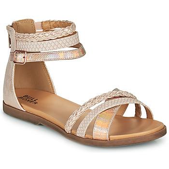 Schuhe Mädchen Sandalen / Sandaletten Bullboxer ALM013F1S-ROGO Rose
