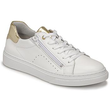Schuhe Mädchen Sneaker Low Bullboxer AOP000E5L-WHPN Weiss