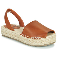 Schuhe Damen Sandalen / Sandaletten Emmshu LUZIA Cognac