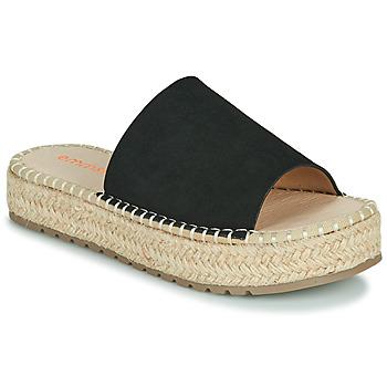 Schuhe Damen Pantoffel Emmshu TAMIE Schwarz