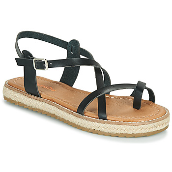 Schuhe Damen Sandalen / Sandaletten Emmshu ALTHEA Schwarz