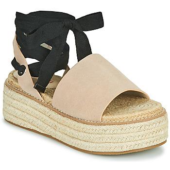 Schuhe Damen Sandalen / Sandaletten Emmshu SEARA Beige