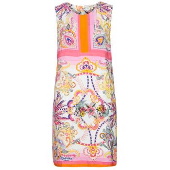 Kleidung Damen Kurze Kleider Derhy SEOUL Rose / Multicolor