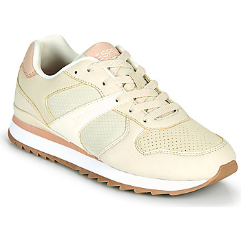Schuhe Damen Sneaker Low Esprit AMBRO Beige / Rose