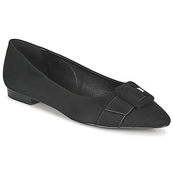 Schuhe Damen Ballerinas Esprit KINA Schwarz