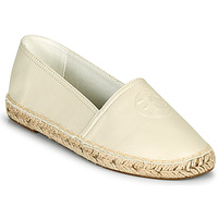 Schuhe Damen Leinen-Pantoletten mit gefloch Esprit AGDA MG Weiss