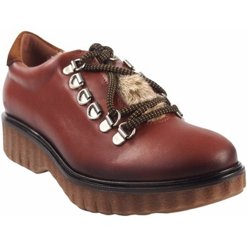 Schuhe Damen Derby-Schuhe Csy Damenschuh CO & SO pach253 Leder Braun