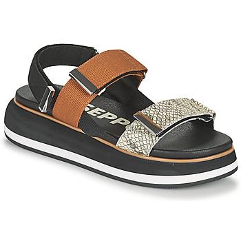 Schuhe Damen Sandalen / Sandaletten Gioseppo ELICOTT Schwarz