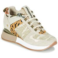 Schuhe Damen Sneaker Low Gioseppo PATERSON Beige / Kaki