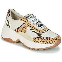 Schuhe Damen Sneaker Low Gioseppo FORMIA Weiss / Leopard